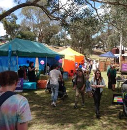 Chill Out Zone Eltham Festival