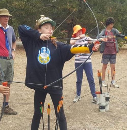 Scouts at Eltham Festival